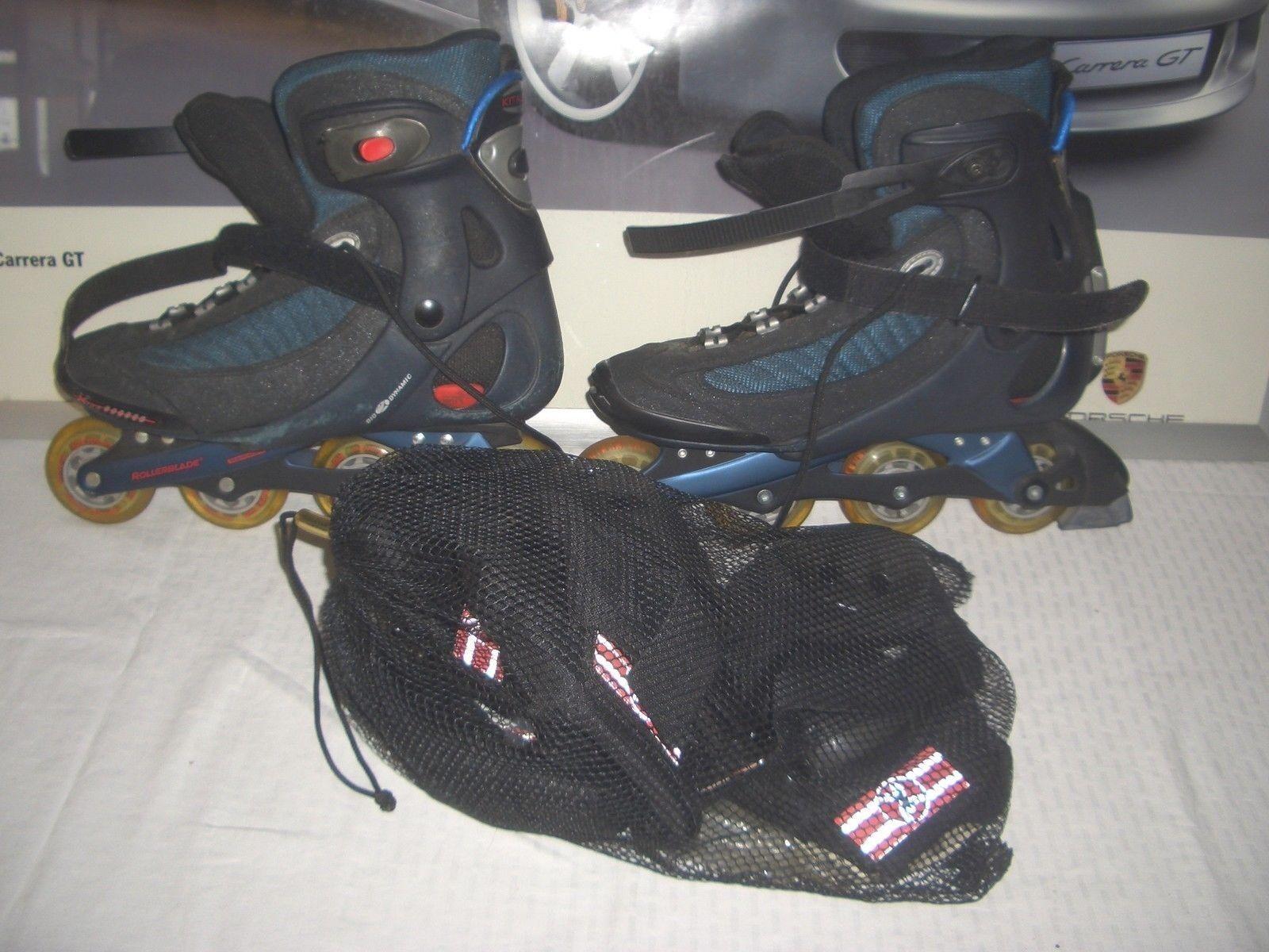Rollerblade 44.5 Kitalpha beta Gr. 44.5 Rollerblade US 11 Made  gebraucht 067603