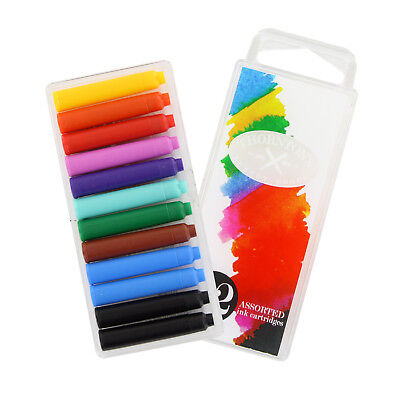 Lamy Fountain Pen Ink Cartridges Pack of 7 Assorted Color Ink