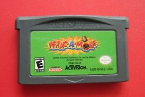 WHAC-A-MOLE-Nintendo-Game-Boy-Advance-plays-in-DS-Lite-SP-System