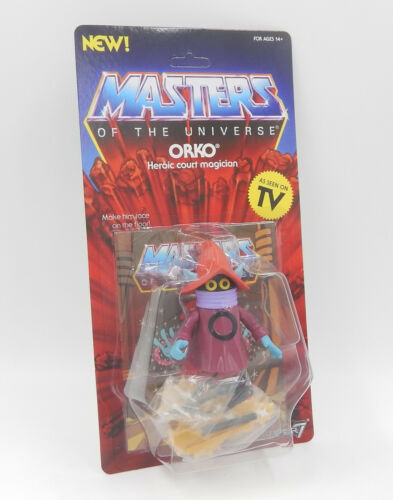 ORKO Action Figure unpunched MOC Neu//OVP MotU Masters SUPER 7 WAVE 3