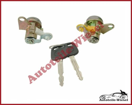 Schloßsatz Türschloss Zylinder Set Vorne für Toyota Corolla E10 93-97