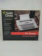 Smith Corona Na3hh Dictionary Typewriter Display 800 Word Processor Withbox