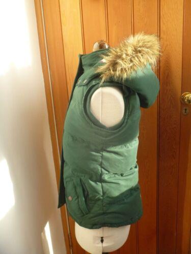 Veste Warmer 8 Fat Gilet Face Vgc Grøn Down Polstret Uk Body Jacket Forest nY1qgwYp