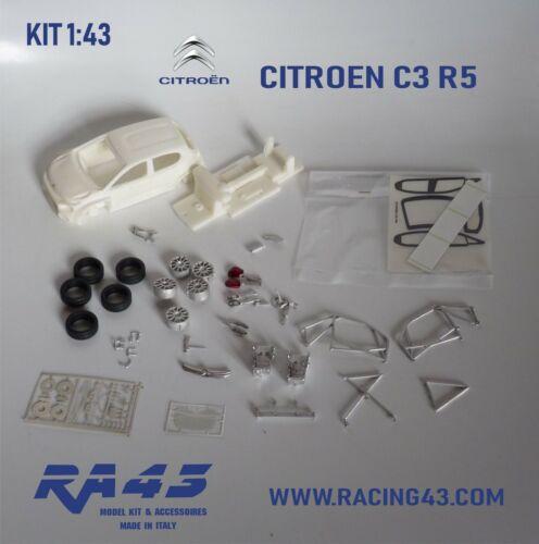 1//43 KIT CITROEN C3 R5 Camilli Rally Montecarlo 2020