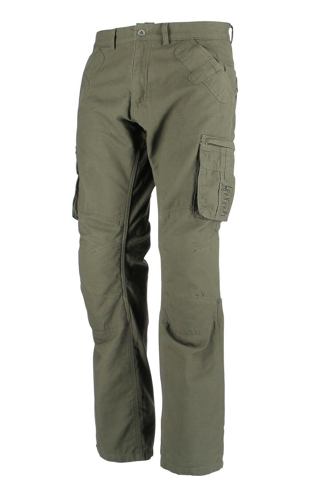 Pantaloni tecnici moto OJ Cargo verde militare taglia 48