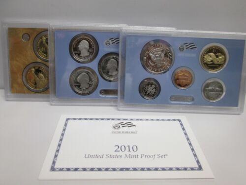 2010 US Mint Proof Set