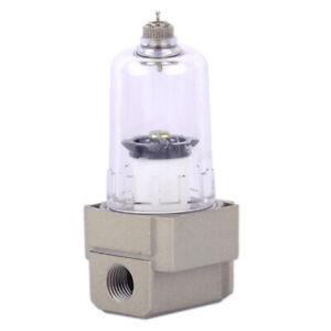 """1//4/"""" 750L//Min Druckluft Air Filter Wasserabscheider AF2000-02 Wasser Separator"""