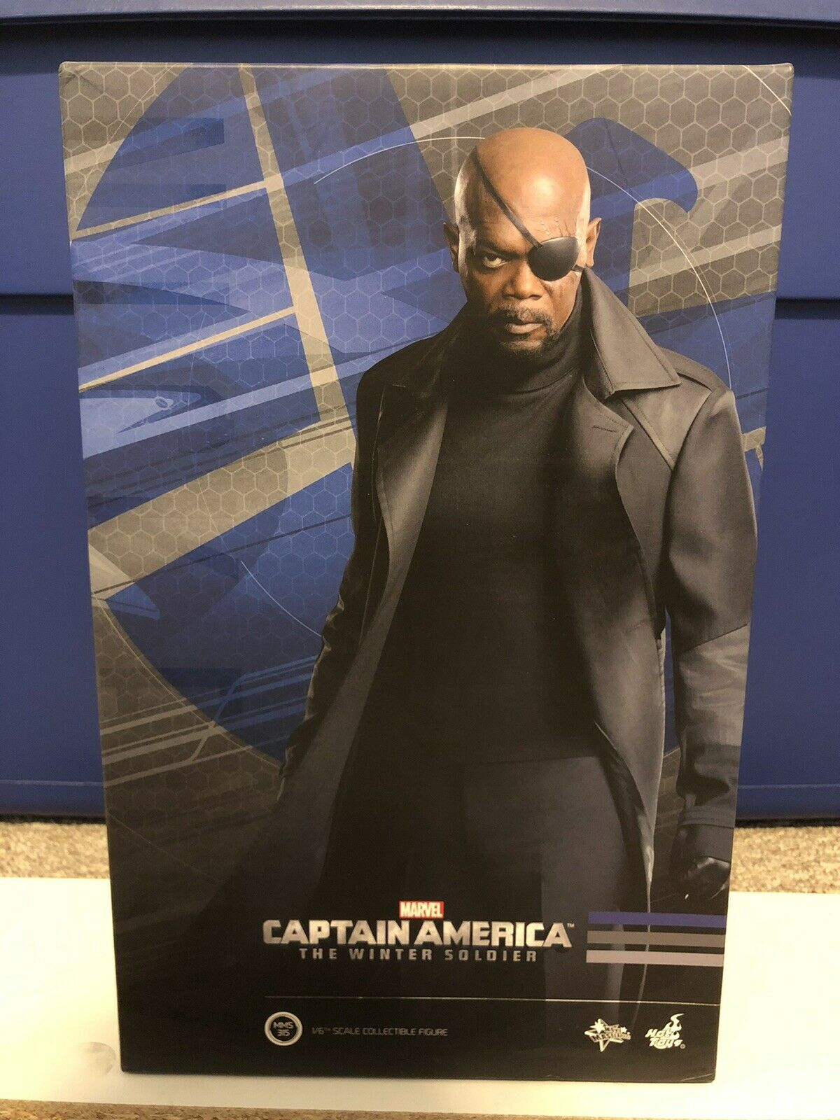 Hot Toys MMS315 Nick Fury Marvel Captain America Winter Soldier 1/6 Figure on eBay thumbnail