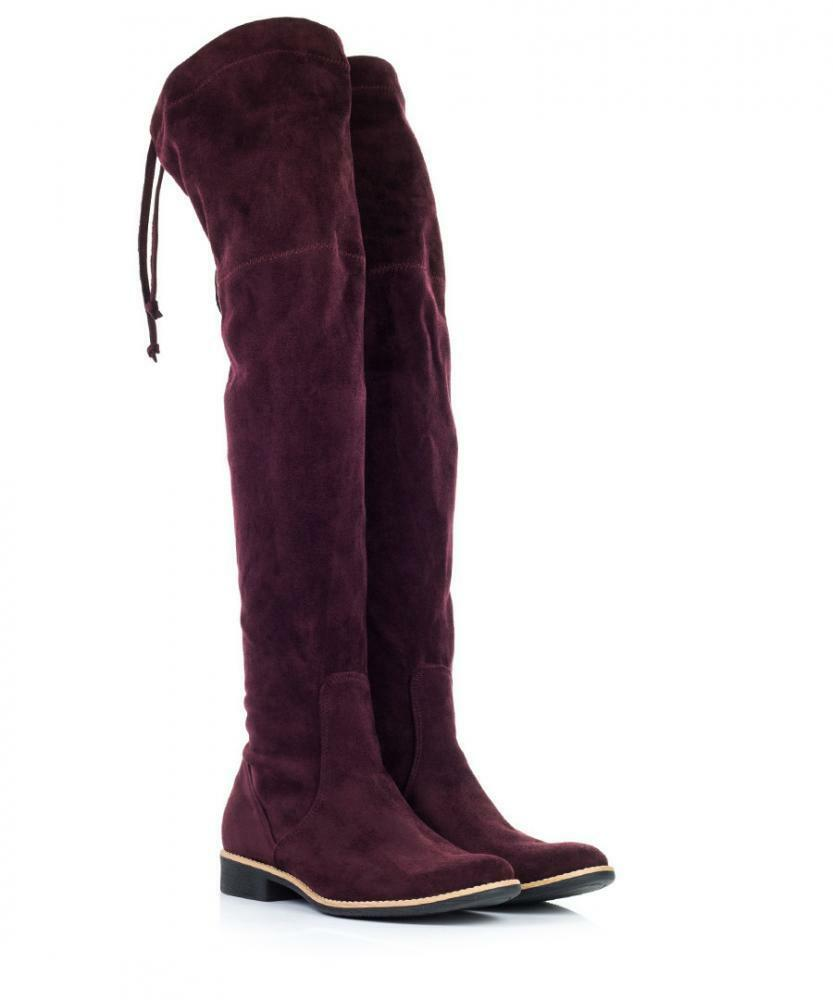 FEDERICA BASSI OVER KNEE BOOTS