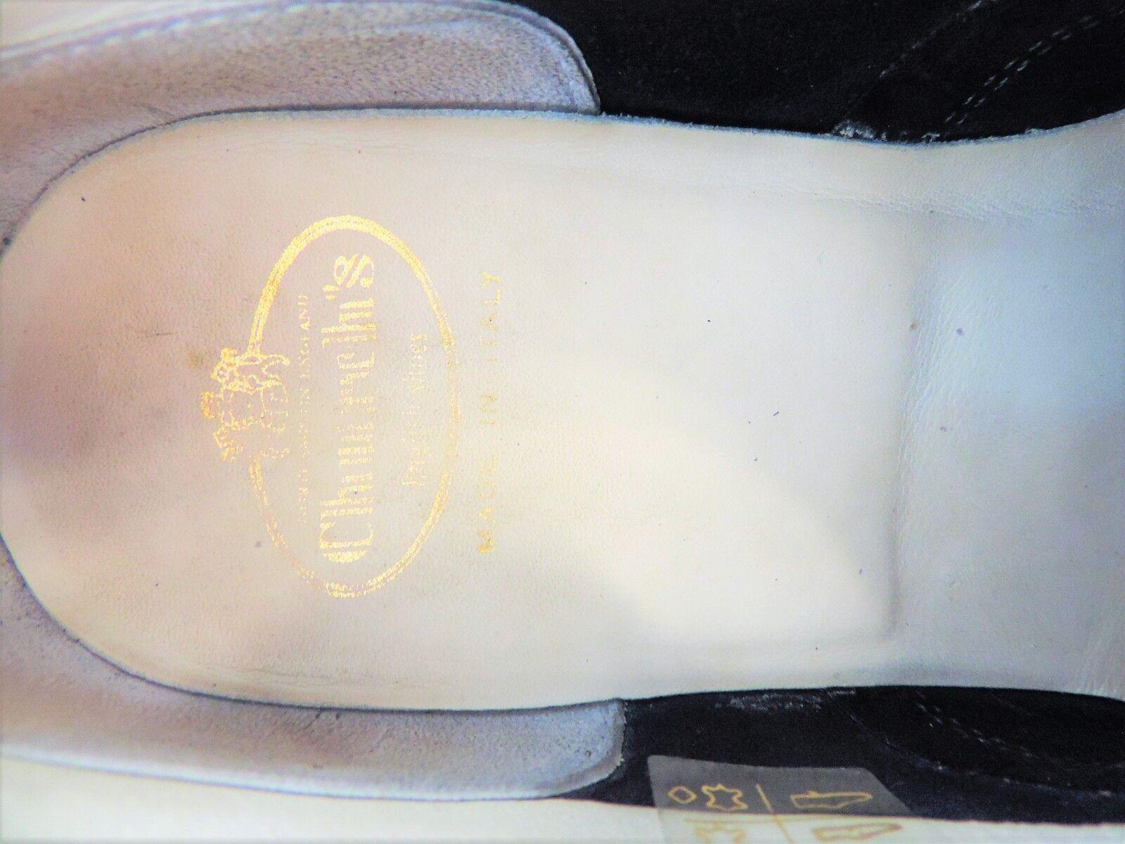 CHURCH'S Donna Blu Camoscio US 5.5 EU 37.5 indossato solo solo solo 2 3 volte come nuovo ae07c4