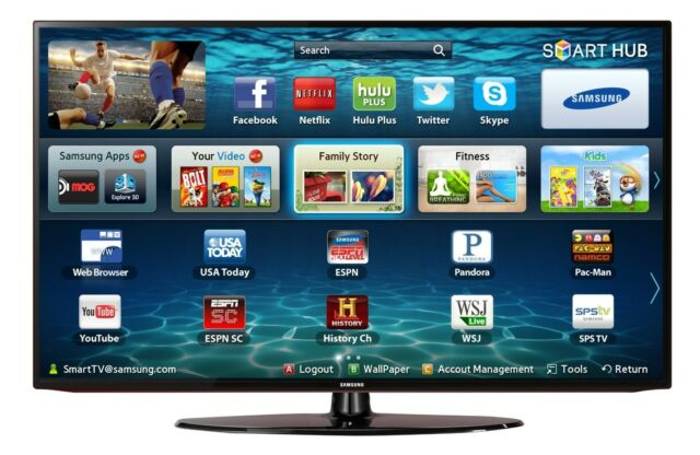 Samsung UN32EH5000 32-Inch Full HD 1080p 60 Hz LED HDTV w/ 120 Clear Motion Rate