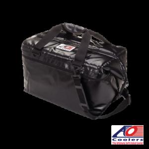 NEW-AO-Coolers-48-Can-VINYL-Cooler-Bag-Blue-Black-Silver-Esky-Ice-Bag