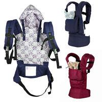 Neu Baby Carrier Baby Babytrage Bauchtrage Rückentrage Babytragetuch Tragetuch