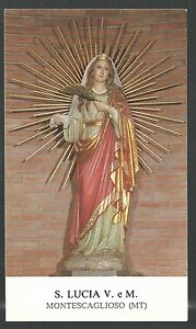 Image Pieuse De Santa Lucia Holy Card Santino Estampa Bx2wbsvn-07234214-817289091