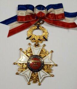 Croix de Membre du Jury Exposition Internationale du Mans 1899