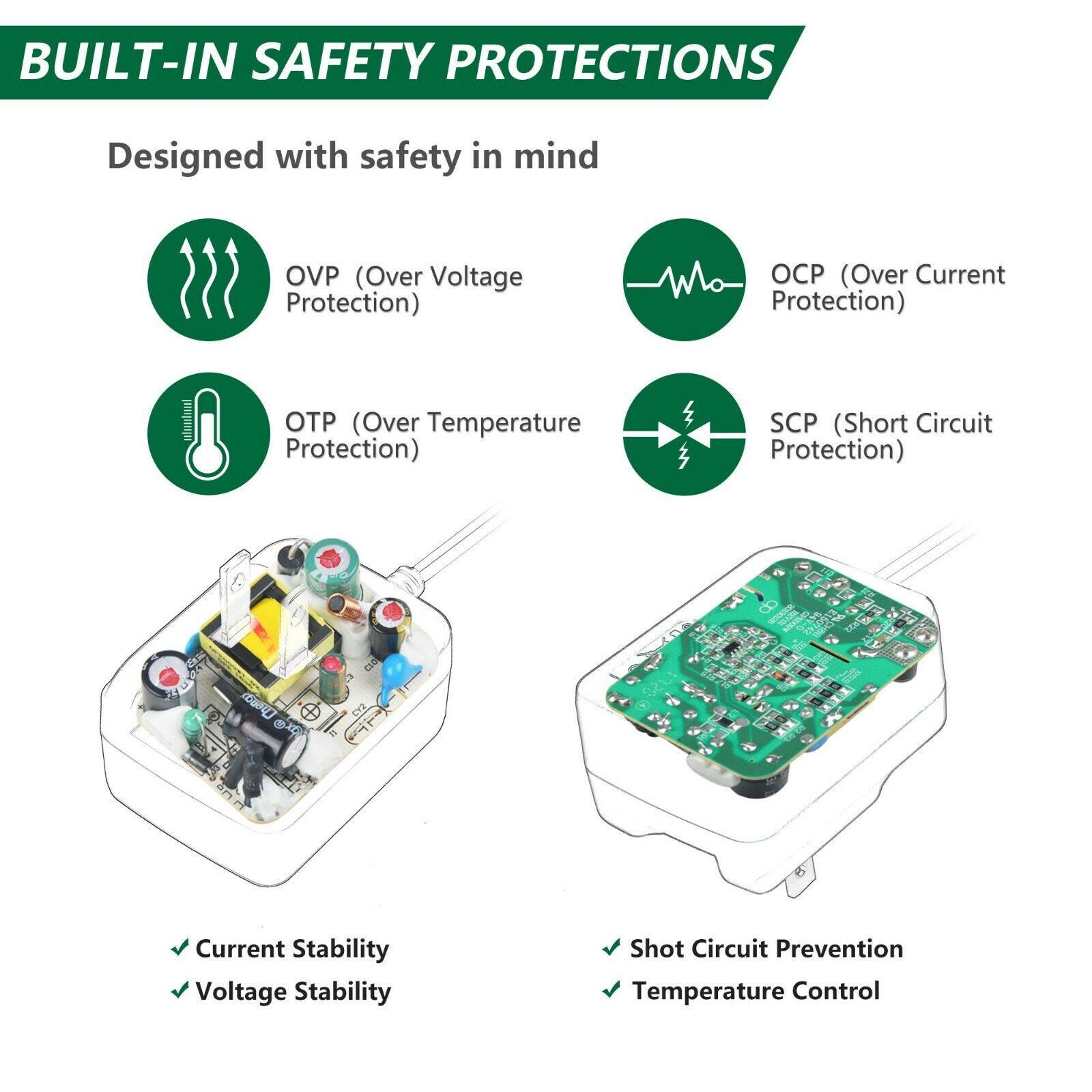 UL 5ft AC/DC Adapter for Ahead Model MW48-0901000 MW480901000 Transformer Power