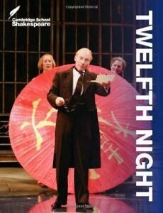 Twelfth-Night-Cambridge-School-Shakespeare-by-Gibson-Rex-Paperback-Book-9