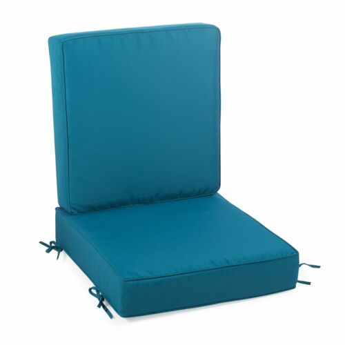 Turquoise Blue Outdoor Patio Chair Deep, Blue Outdoor Furniture