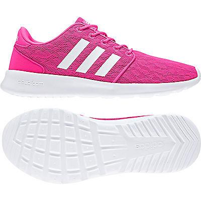 Adidas cloudfoam QT Racer W rosaWhite bb9847 neo cortos señora calzado deportivo | eBay