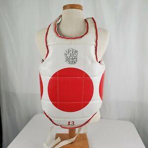 ProForce TaeKwonDo Reversible Hogu Chest guard Body Protector TKD Sparring Gear