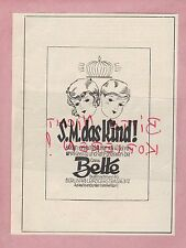 BERLIN, Werbung 1930, Bud & Lachmann AG Emma Bette Kinder-Kleidung Garderobe