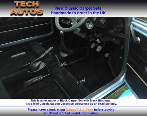 Carpet Set Handmade to Order Tufted Deep Pile Ford Escort Mk1 /& MK2