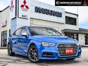 2018 Audi S3 2.0T Technik quattro 7sp S tronic NO ACCIDENTS | B
