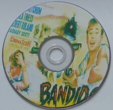 WESTERN 28: BANDIDO (1956) Richard Fleischer Robert Mitchum, Gilbert Roland