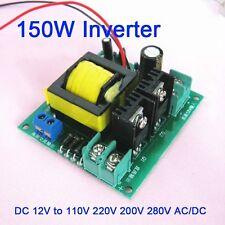 150W Inverter Transformer Converter Boost DC 12V to 110V 220V 200V 280V AC/DC