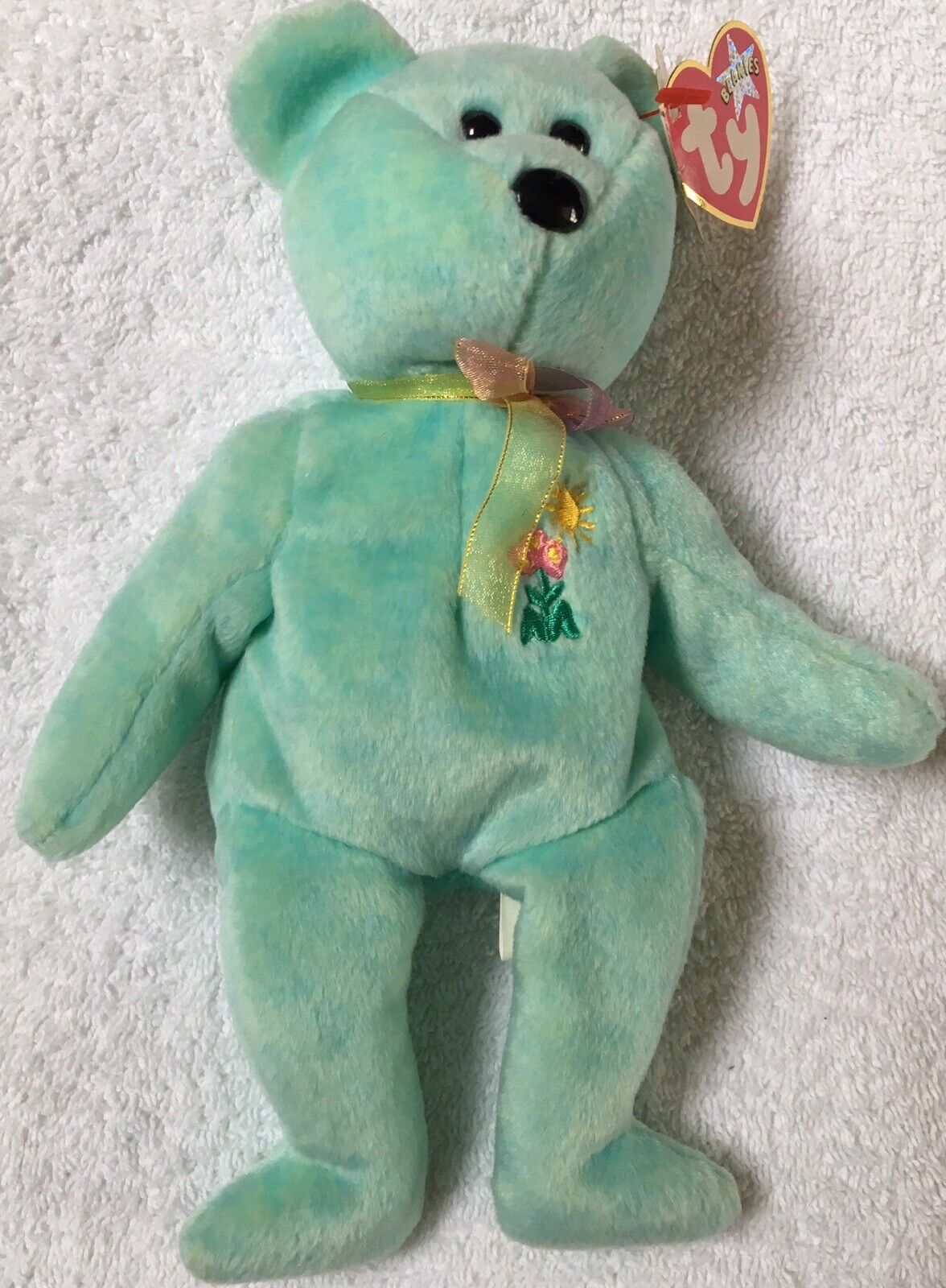 TY Beanie Babies Teddy Ariel 2000 Rare Errors On Tag Collectable Retired