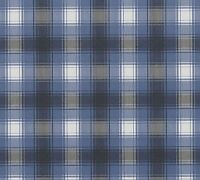Blue White Black Plaid Checks Checkered Designer Wall Wallpaper Vinyl Wall Cover