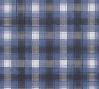 Blue White Black Plaid Checks Checkered Designer Wall Wallpaper Vinyl Wall Cover