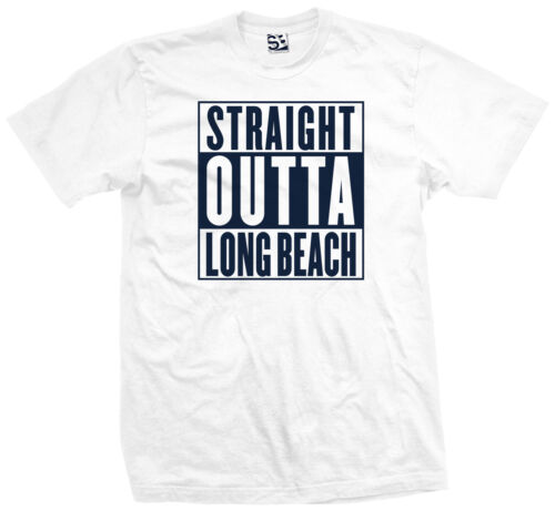 LBC Snoop NWA Compton Dre Chronic All Colors Straight Outta Long Beach T-Shirt