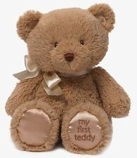 Baby GUND My First Teddy Small Tan Plush Soft Toy (4043974) NEW  Gift Idea