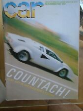 Car Nov 1982 Lamborghini Countach 50 Litres Jalpa Alfasud Vs Scirocco