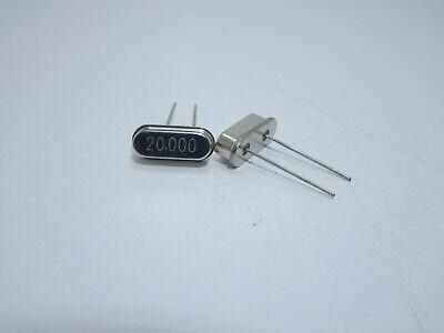 Quarzo 32.768 kHz 20ppm Oscillatore Cilindrico Quarz Quartz 32768 HC49
