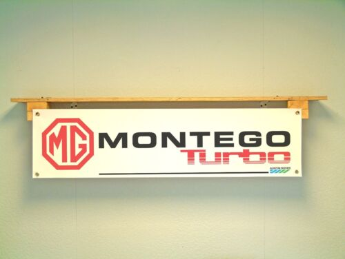 MG Montego Turbo BANNER Automotive Workshop Garage Car Show Austin Rover Leyland