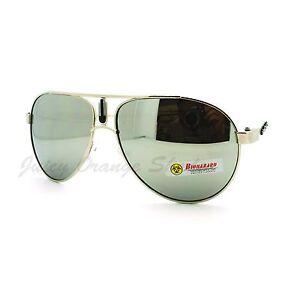 Biohazard-Sunglasses-Racer-Round-Aviators-Multicolor-Reflective-Lens