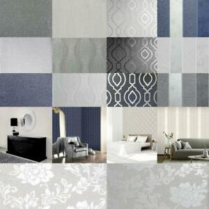 Arthouse-Calico-Range-Trellis-Floral-Dot-Stripe-amp-Plain-Textured-Wallpaper