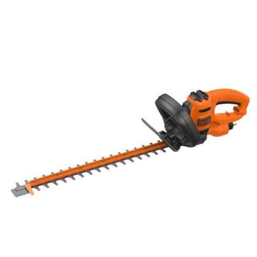 orange BLACK+DECKER Heckenschere BEHTS301