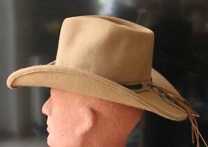 HonnêTe Stars & Réparti Western-chapeau De Cowboy Clint, Couleur Crème, Malléable, Taille S-afficher Le Titre D'origine