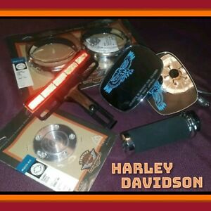 Harley-Davidson-Parts-Lot-Wholesale-Motorcycle-Bike-Eagle-Mirrors-Chrome-New-Mix