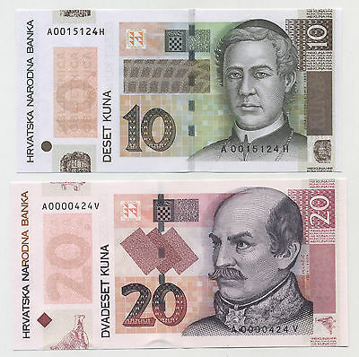 P-44 Croatia 20 Kuna 2014 Commemorative UNC