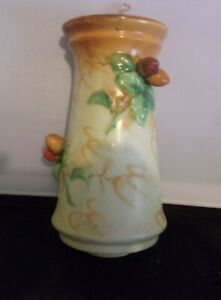 Beautiful Vintage Ceramic Wall Vase/Sconce/ Wall Pocket ... on Pocket Wall Sconce For Flowers id=28811