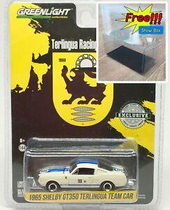 Greenlight-1965-SHELBY-GT350-Terlingua-Team-Car-98-BP-1-64-Free-Display-Box