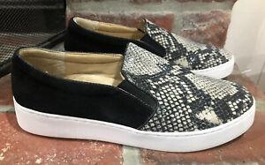Vionic Midi Snake Print Sneakers Slip