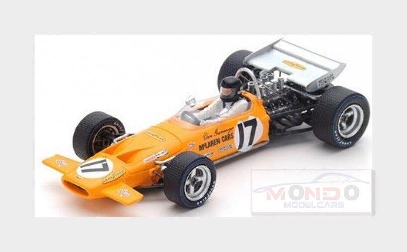 Mclaren F1  M14A  17 France Gp 1970 Dan Gurney Gelb SPARK 1 43 S4844