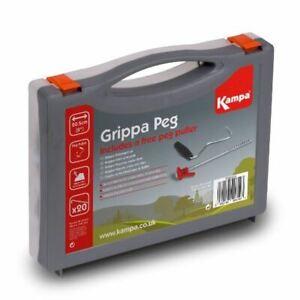 Kampa-Grippa-Peg-Pack-Hardstanding-Camping-Awning-Caravan-Storage-Case-20-pegs