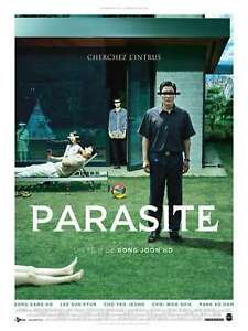 T527 Parasite Movie Kang-ho Song Poster Art 24x36 27x40