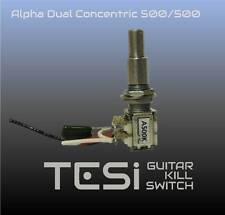Tesi Alpha Dual Concentric Potentiometer 500k/500k with Center Detent
